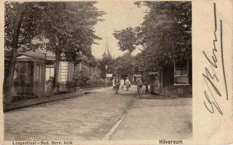 Langestraat 1904