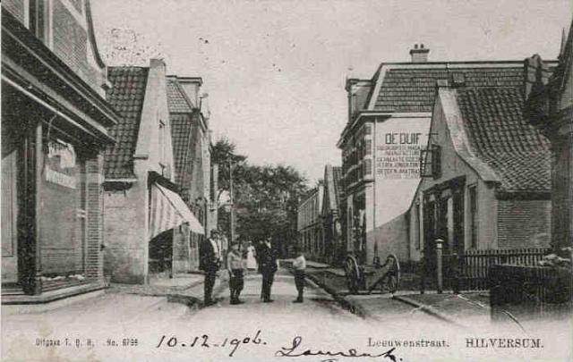 Leeuwenstraat 1906 …